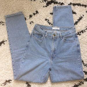 American Apparel High-Waist Jean, Light Wash